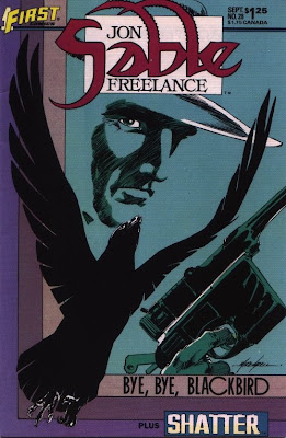 cover of Jon Sable Freelance #28 from First Comics