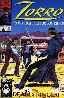 cover of Zorro #9 from Marvel Comics