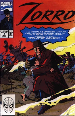 cover of Zorro #4 from Marvel Comics
