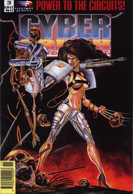 cover of Cyber Crush: Robots in Revolt #3 from Fleetway Quality Comics