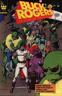 cover of Buck Rogers in the 25th Century from Whitman