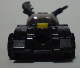 front view of McDonald's Lego Batmobile