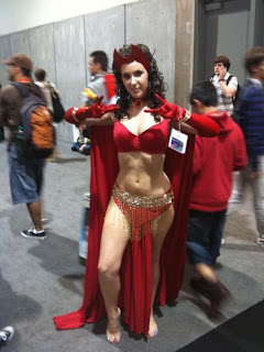 Belly Dancing Scarlet Witch
