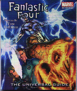 Fantastic Four The Universal Guide front cover