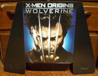 X-Men Origins Wolverine dvd display header