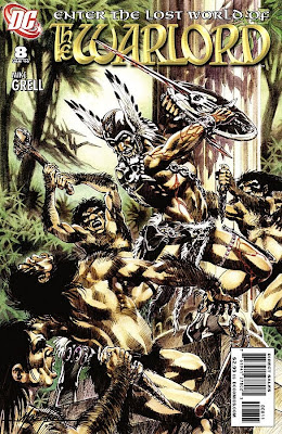 cover of The Warlord #8
