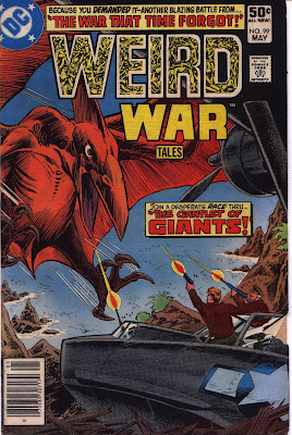 cover for Weird War Tales #99