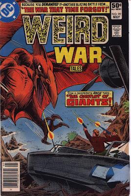 cover for Weird War Tales #99