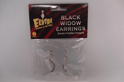 Elvira Black Widow earrings