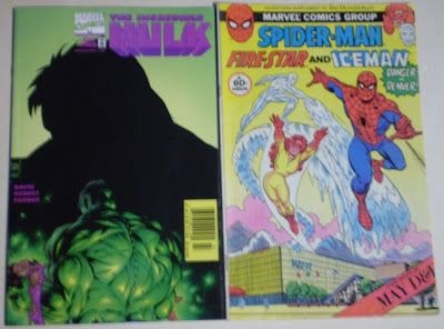 Incredible Hulk #466 with Spider-Man Fire-Star and Iceman