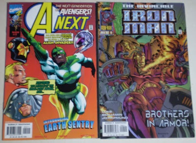 A-Next #2 and Iron Man #9