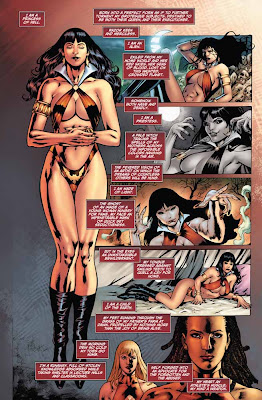 page one of Vampirella: Second Coming #4