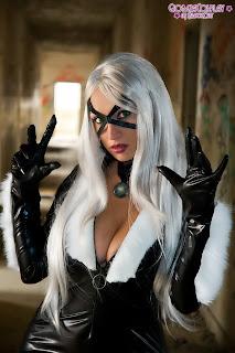 Giorgia Cosplay as Black Cat #1