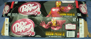 Dr Pepper Cherry Iron Man 2 box #1