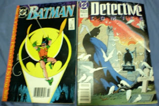 Batman #442 and Detective Comics #610 from DC Comics
