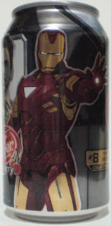 Iron Man 2 Dr Pepper Cherry #8: Tony Stark Iron Man #2