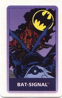 Bat-signal card from Batman Forever game