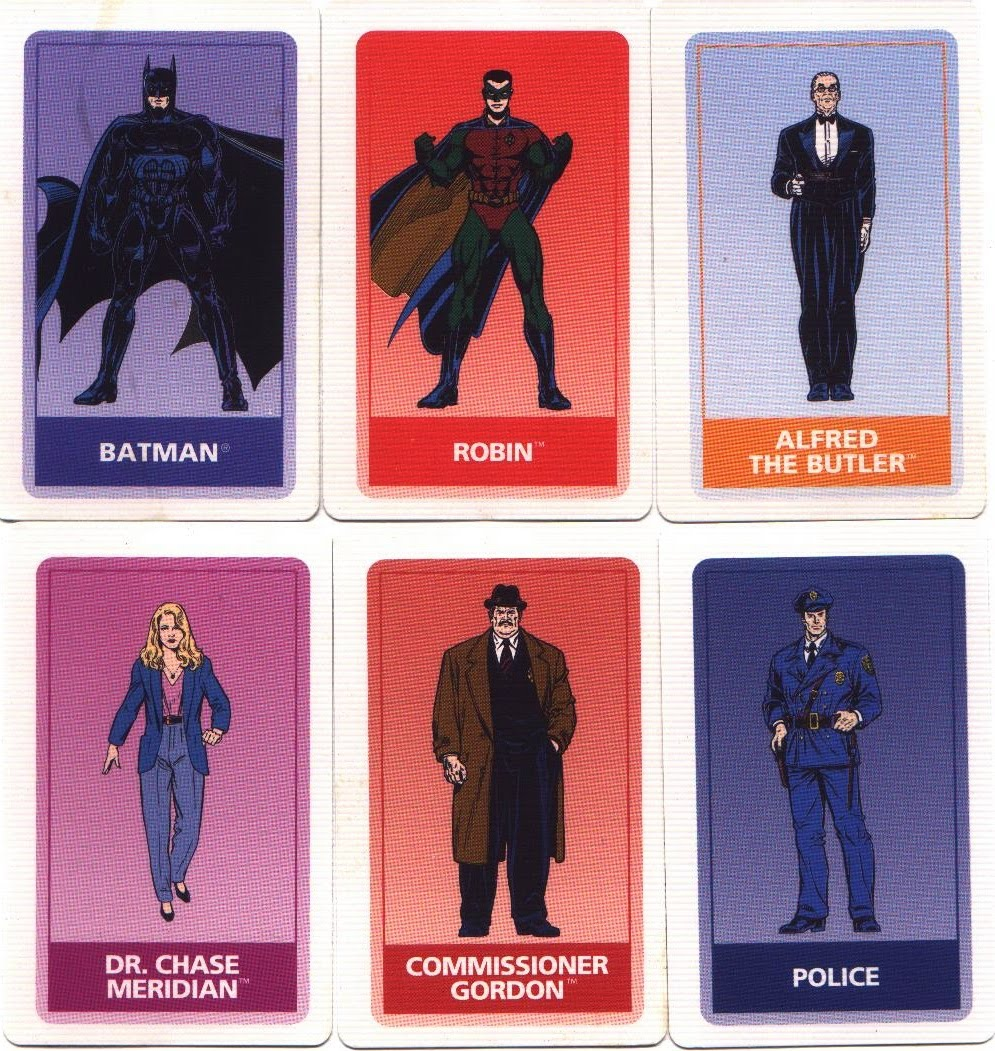 Batman Forever Game Cards 1