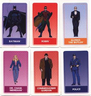 Batman Forever game cards #1
