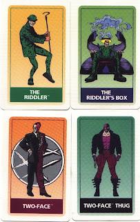 Batman Forever game cards #2