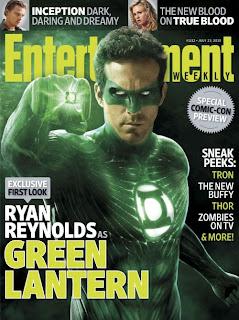 Green Lantern on Entertainment Weekly