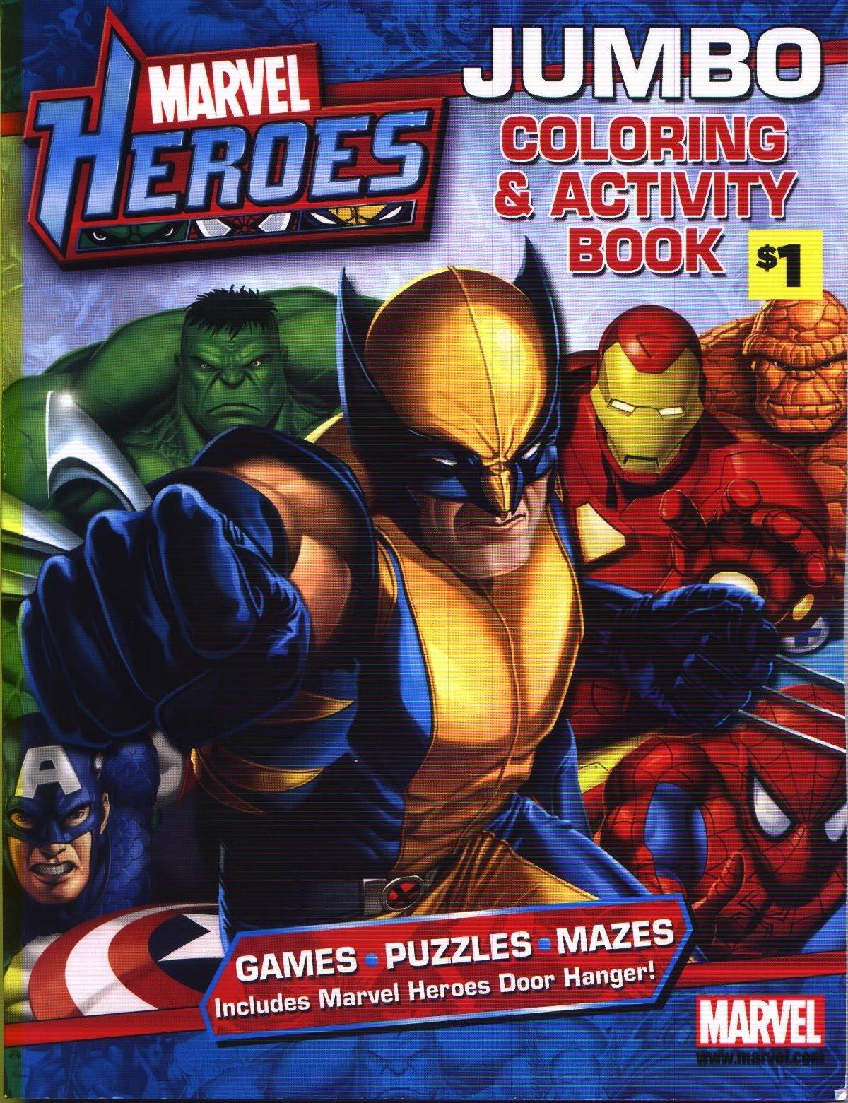 Moongem Comics Marvel Heroes Jumbo