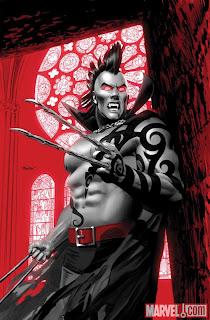 Daken: Dark Wolverine #2 color cover artwork by Mike Meyhew