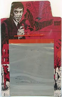 Dark Shadows Magic Slate 1969 with Barnabas Collins