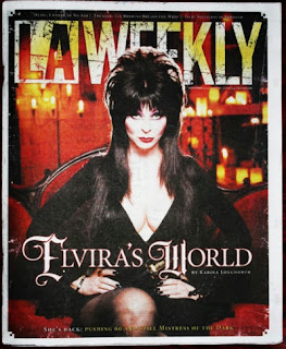 Cover of LA Weekly featuring Elvira
