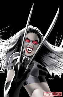 X23 #2 color cover artwork by Mike Meyhew