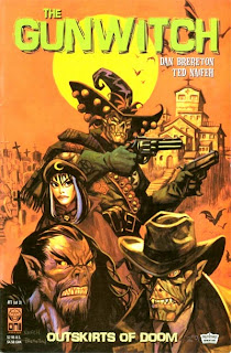 Cover of Gunwitch: The Outskirts of Doom #1 by Daniel Brereton and Ted Naifeh