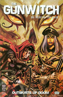 Cover of Gunwitch: The Outskirts of Doom #3 by Daniel Brereton and Ted Naifeh