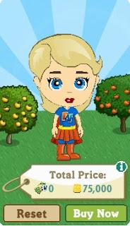 Super FV Woman Halloween costume in FarmVille