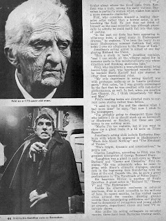Page five of the Dark Shadows article from Famous Monsters of Filmland #59