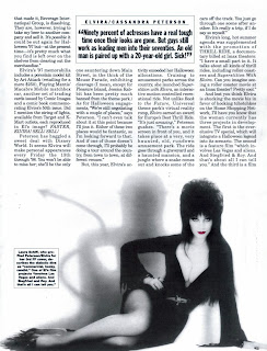 Elvira article page 6 from Femme Fatales vol 6 #7
