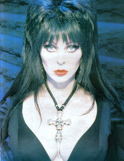 Elvira feature from Femme Fatales vol 4 #4 page