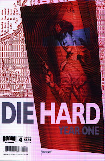 Cover A of Die Hard Year One #4
