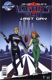 Cover A of Logan's Run: Last Day #1