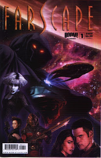 Cover A of Farscape #1 from Boom