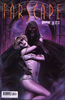 Cover A of Farscape #3 from Boom