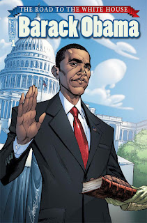 Cover of Barack Obama: The Road To The White House #1 from IDW