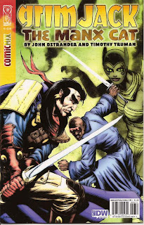 Cover of Grimjack: The Manx Cat #6 from IDW