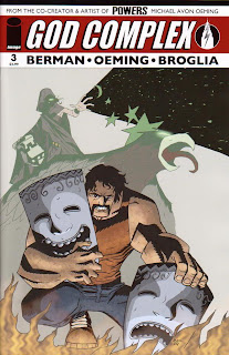 Cover of God Complex #3 from Image