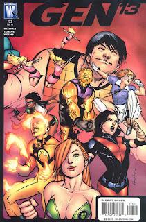 Cover of Gen13 #33 from WildStorm