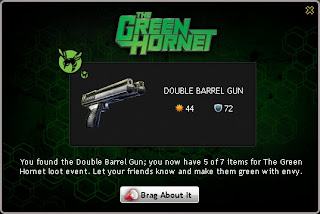 Double Barrel Gun at Mafia Wars