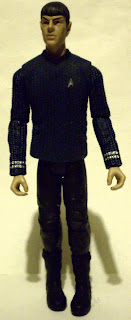 Zachary Quinto as Spock action figure