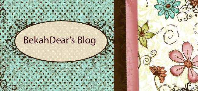 BekahDear's Blog