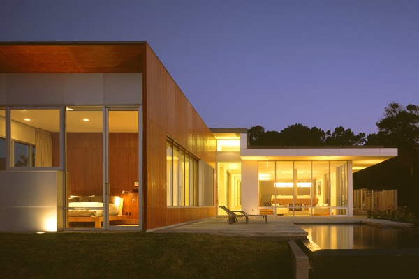 Modern residential design spf a brosmith house - Artistic wood clad design for warm essence in your house ...