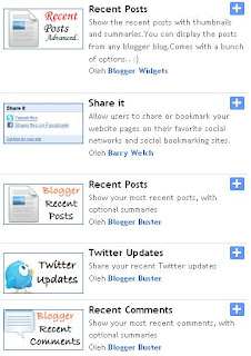 Widget Artikel Terbaru di Blogspot