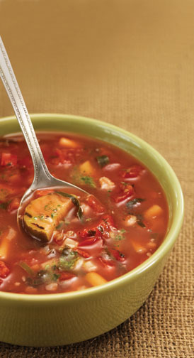 Garden Vegetable Soup Image Credit Panera Bread